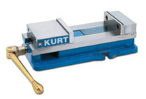 Machining Vise evenly distributes clamping force.