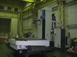 Horizontal Boring/Milling Machine supports prolonged cutting.