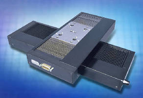 Precision Linear Stages suit surface metrology applications.