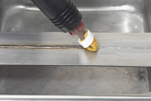 Weld Cleaning System offers non-toxic alternative.