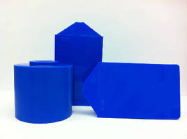 Blue Colored Acetal targets food industry applications.