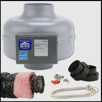 Retrofit Bath Fan Kit optimizes ventilation.