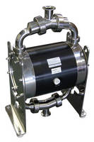 Air-Operated Double Diaphragm Pumps suit sanitary applications.