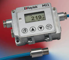 IR Temperature Sensors integrate network communication options.