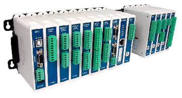 Modular Industrial Control System supports up to 256 ports.