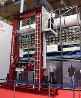 Storage/Retrieval Machine integrates independent cabin lift.
