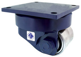 Compact, Heavy-Duty Casters handle loads up to 32,000 lb.