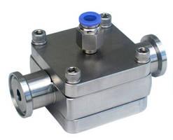 Back Pressure Regulators feature integral tri-clamp ferrules.