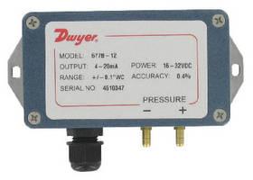 Differential Pressure Transmitters feature NEMA 4 enclosure.