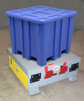 Vibratory Packer maximizes bulk density of containers.