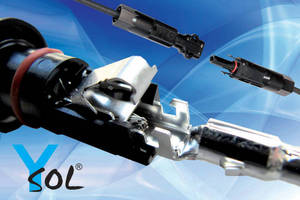 Y-Sol4 F.A.T. - PV Plug Connector that Assembles without Crimping Tool