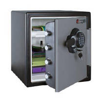 Fire Resistant Safes feature four 1 in. bolts in door.