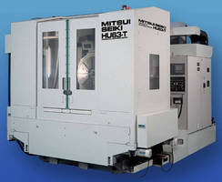 CNC 5-Axis Machining Center handles power generation parts.