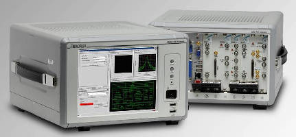Modular RF Test Systems support FM and ZigBee analysis.