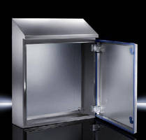 Stainless Steel Enclosures feature hygienic design.