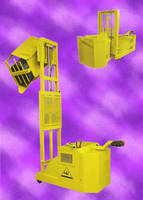 Mobile Lifter-Dumper handles many differently shaped containers.