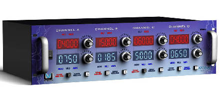 Ultravolt® Unleashes Higher Power Per Channel on Its Rack Mount High Voltage Power System