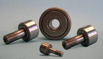 Stainless Steel Cam Followers tolerate washdown applications.