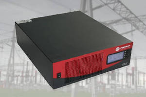 Inverter/Charger provides long term UPS capability.