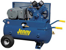 Electric Air Compressor simultaneously runs multiple tools.