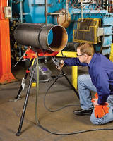 Portable Chain Vises grip pipe up to 12 in. in diameter.