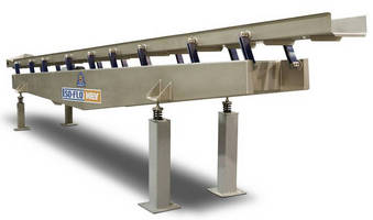 Vibratory Conveyor accommodates needs of food processors.