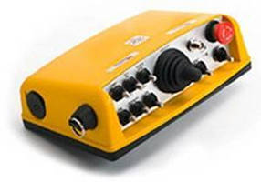 Radio Remote Control suits industrial rail applications.