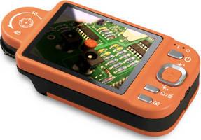 Mobile Microscope comes with measurement program, camera.