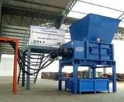 New Shredder in Indonesia from SSI Shredding Systems