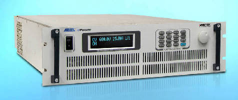 Programmable DC Power Supplies deliver 4-30 kW output power.