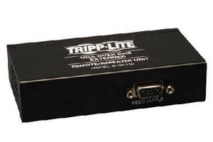 Extender/Repeater Kit extends VGA and VGA plus Audio signals.