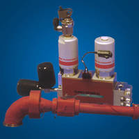 Foam Silicone Rubber Heaters conform to gas delivery/pump lines.