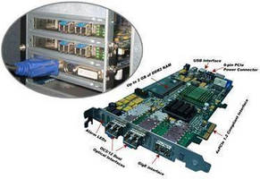 PCI Express Card provides protocol analysis and emulation.