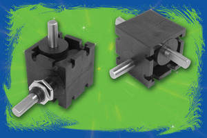 Right Angle Helical Gear Drives feature base or panel mount design.
