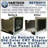 Legacy CRT Migration to LCD Technology; VarTech's RETROFIT Program