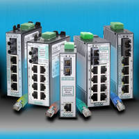 Industrial Ethernet Unmanaged Switches Expand Fiber Options