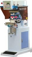 Dual-Color Pad Printer incorporates pneumatic slide mechanism.
