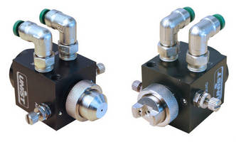 Low-Volume Spray Nozzle serves machining operations.