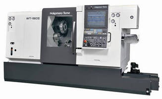 Multi-Tasking Turning Center offers spindle speeds to 5,000 rpm.