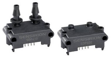 Digital Differential Pressure Sensors feature low ranges.