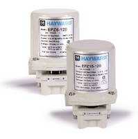 Electric Actuators operate small diameter ball valves.