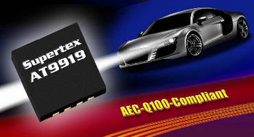 Automotive LED Driver IC offers high side current sensing.