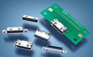 High-Speed Docking Connector suits low-profile applications.