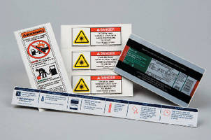 Label Printing Service prints text, graphics, or combination.