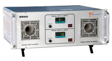 Non-Contact Pyrometer Calibrator features dual ranges.