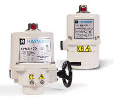 Quarter-turn Valve Actuators are designed for simple installation.
