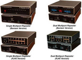 Multiport T1 E1 Repeater increases signal range and number.