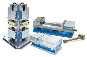 Kurt HD and HDL Workholding Replaces DL430 DoubleLock and CT430 Cluster Tower - New And Enhanced Kurt Workholding Features Meet Needs of Latest Machining Centers