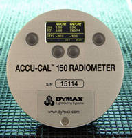 Radiometer facilitates UV-cure validation and monitoring.