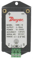 Differential Pressure Transmitter has push-button calibration.